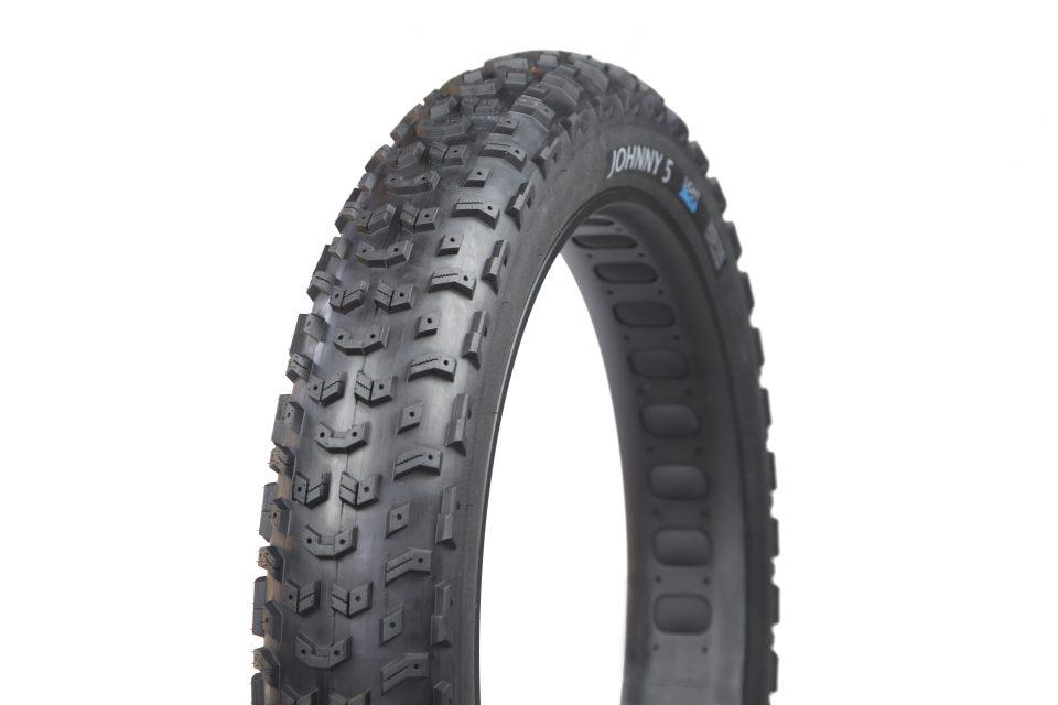 Terrene Johnny 5 Fat Bike studded tire
